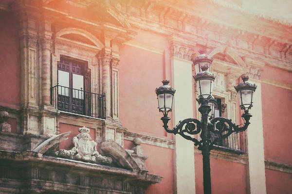Wall Art - Photograph - Vintage Street Lamps Of Valencia Spain  by Carol Japp