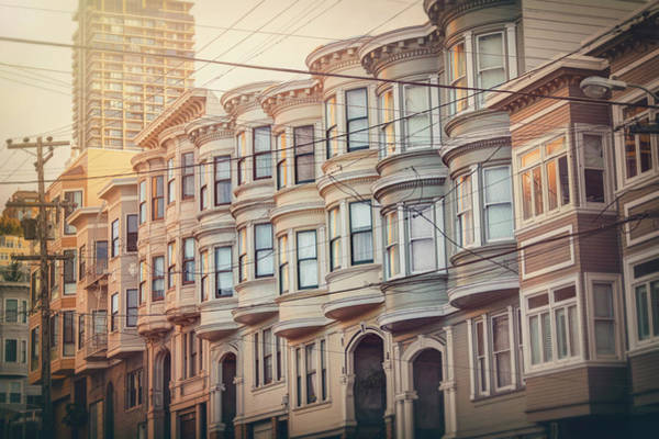 Wall Art - Photograph - Vintage Streets Of San Francisco  by Carol Japp