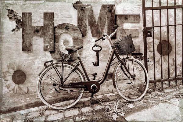 Digital Art - Vintage Taking Me Home by Debra and Dave Vanderlaan