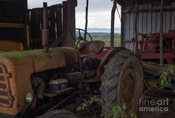 Photograph - Vintage Tractor, South France by Perry Rodriguez