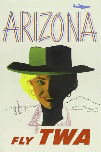 Mixed Media - Vintage Travel Poster Arizona 3 by Movie Poster Prints