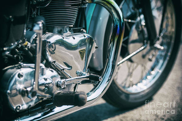 Wall Art - Photograph - Vintage Triumph Abstract by Tim Gainey