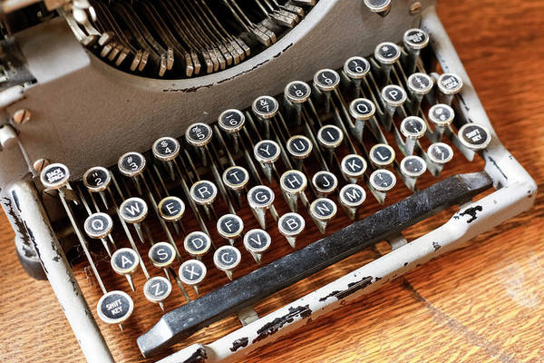 Wall Art - Photograph - Vintage Typewriter In A Consignment by Julien Mcroberts
