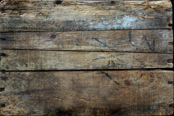 Wood Photograph - Vintage Wood Planks by Rdegrie