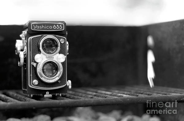 Photograph - Vintage Yashica On The Barbie by John Rizzuto