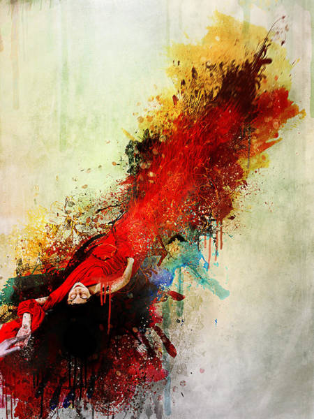 Wall Art - Digital Art - Violently Happy by Mario Sanchez Nevado