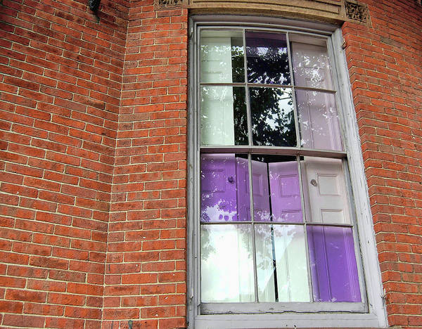 Photograph - Violet Panes by JAMART Photography