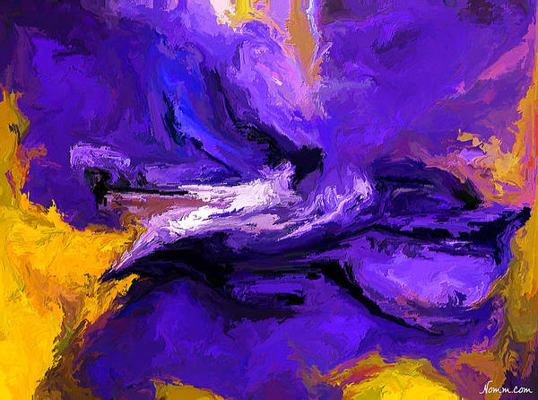 Digital Art - Violeta by Rein Nomm