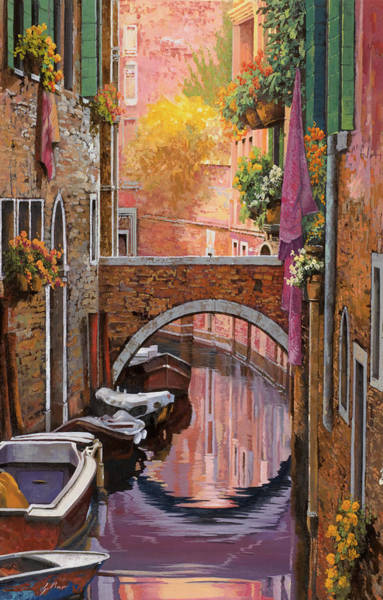 Painting - Violetta by Guido Borelli