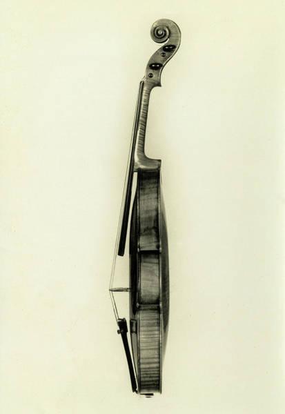Wall Art - Painting - Violin, Cremona, Antonio Stradivari - 1, 1683 by Antonio Stradivari