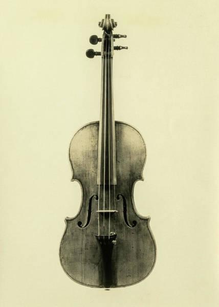 Wall Art - Painting - Violin, Cremona, Antonio Stradivari, 1683 by Antonio Stradivari