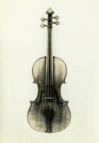 Wall Art - Painting - Violin, Cremona, Antonio Stradivari, 1690 by Antonio Stradivari