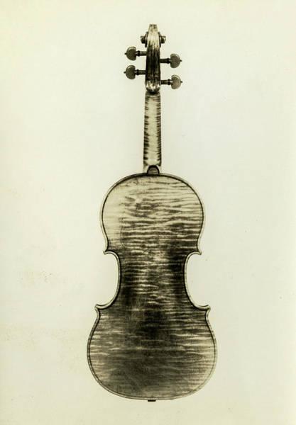 Wall Art - Painting - Violin, Cremona, Antonio Stradivari - 2, 1690 by Antonio Stradivari