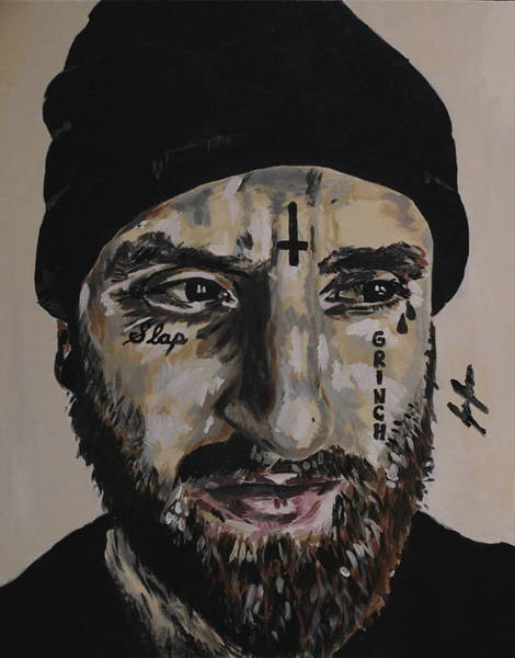 Tats Painting - Viral by Jesse Bastin
