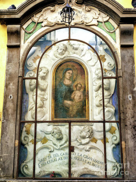 Photograph - Virgin Mary In Florence by John Rizzuto