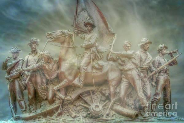 Wall Art - Digital Art - Virginia At Gettysburg by Randy Steele
