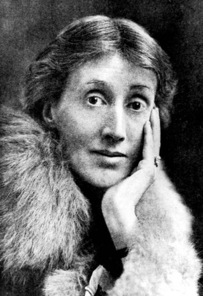 Headshot Photograph - Virginia Woolf by Time Life Pictures