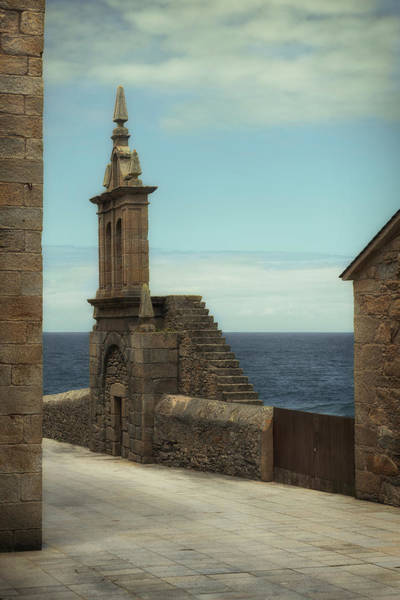 Wall Art - Photograph - Virxe Da Barca Church In Muxia - Bell Gable by RicardMN Photography
