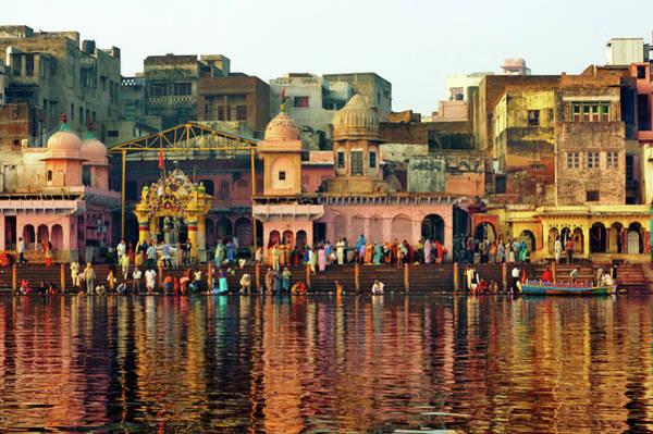 Spirituality Photograph - Vishram Ghat, Mathura by Himanshu Khagta