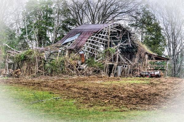 Wall Art - Photograph - Vision Of A Dilapidated Barn  by Douglas Barnett