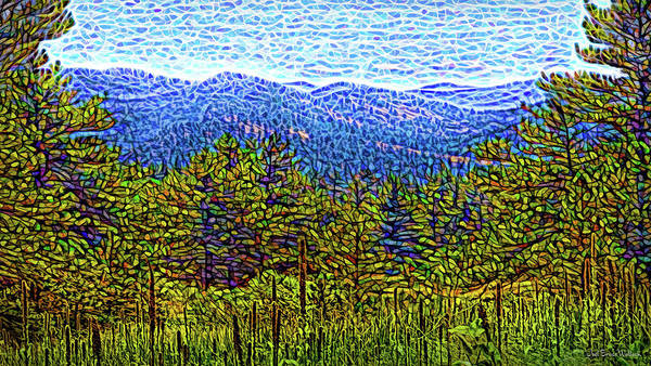 Digital Art - Visionary Vista by Joel Bruce Wallach