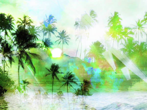Wall Art - Photograph - Visions Of Coconut Trees by Stacy Vosberg