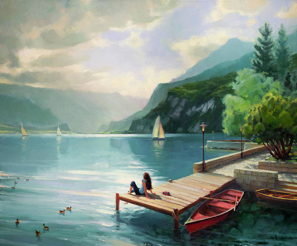 Painting - Visions Of Switzerland by Steve Henderson