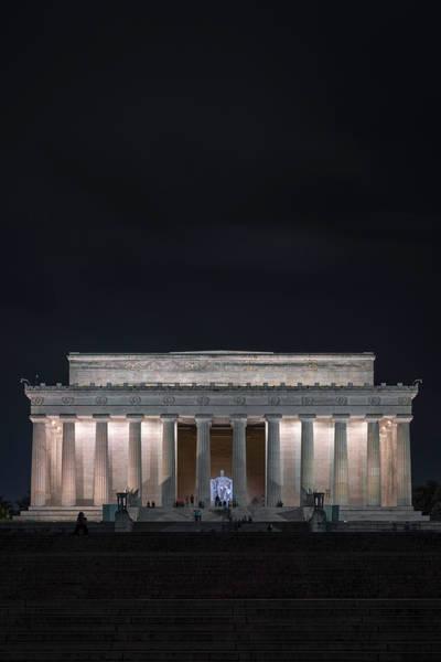 Wall Art - Photograph - Visiting Abe by Robert Fawcett