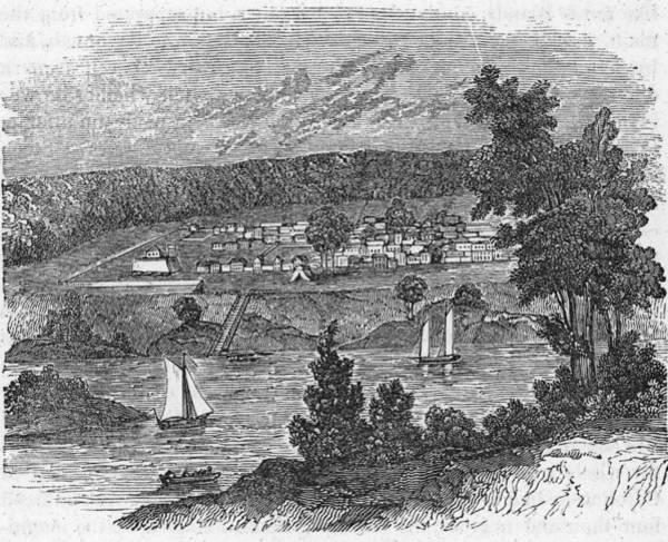 Georgia Photograph - Vista Of Colonial Savannah, Georgia by Kean Collection