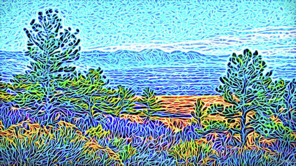 Digital Art - Vista Of Enchantment by Joel Bruce Wallach