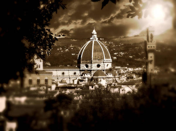 Photograph - Viste Di Firenze  by Micki Findlay
