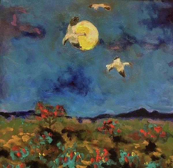 Painting - Visual Heaven II by Dilip Sheth