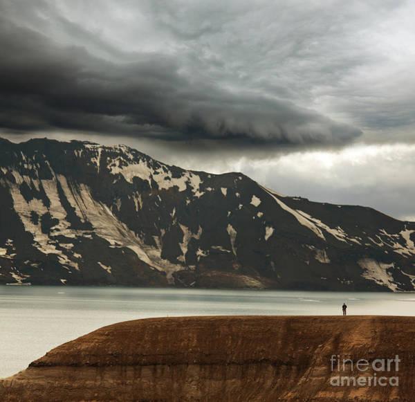 Wall Art - Photograph - Vitio Geothermal Lake ,askja ,iceland by Galyna Andrushko