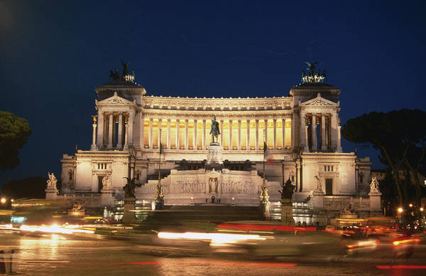 Belgian Culture Photograph - Vittorio Emanuele Monument, Rome, Italy by Lonely Planet