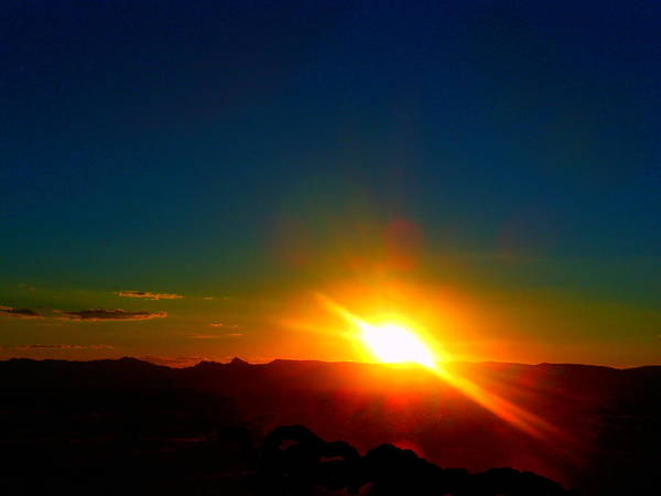 Wall Art - Photograph - Vivid Sunset In Golden Valley Arizona by James Welch
