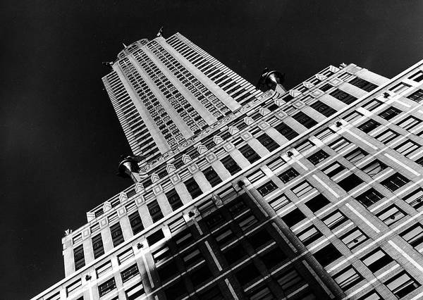 Time Magazine Photograph - Viwe Of The Chrysler Building Which by Margaret Bourke-white