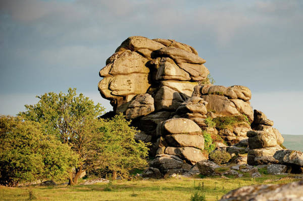 Photograph - Vixen Tor by Helen Northcott