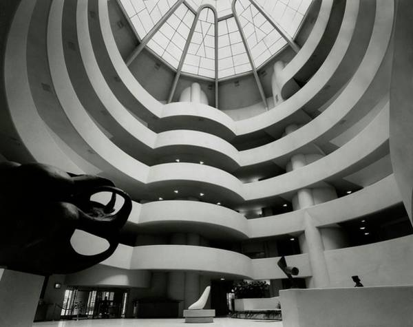 Guggenheim Photograph - Vogue 1960 by Evelyn Hofer