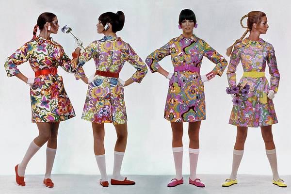 Photograph - Vogue 1968 by Gianni Penati
