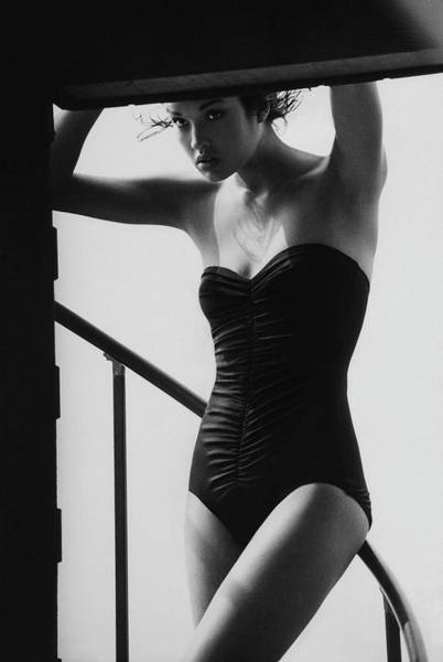Photograph - Vogue 1976 by Arthur Elgort / Conde Nast