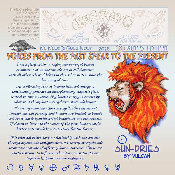 Digital Art - Voices Of The Past By Vulcan by Dawn Sperry