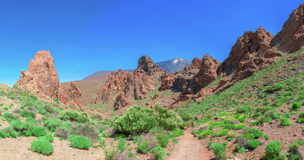 Photograph - Volcanic Rocks In Front Of Mount Teide by Sun Travels