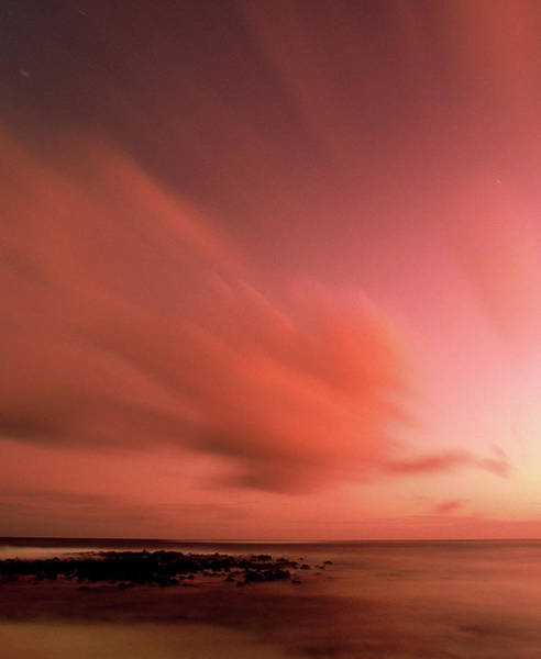 Big Island Photograph - Volcanic Sunset by Dny59