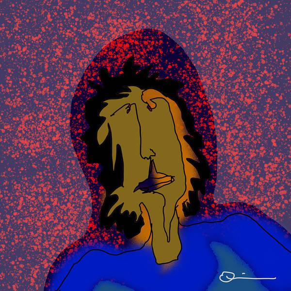 Digital Art - Volcano by Jeff Quiros