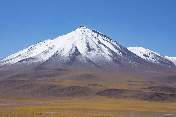 Photograph - Volcano On The Altiplano by Mark Hunter