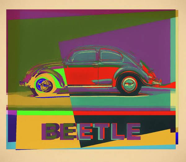 Wall Art - Painting - Volkswagen Beetle by Dan Sproul