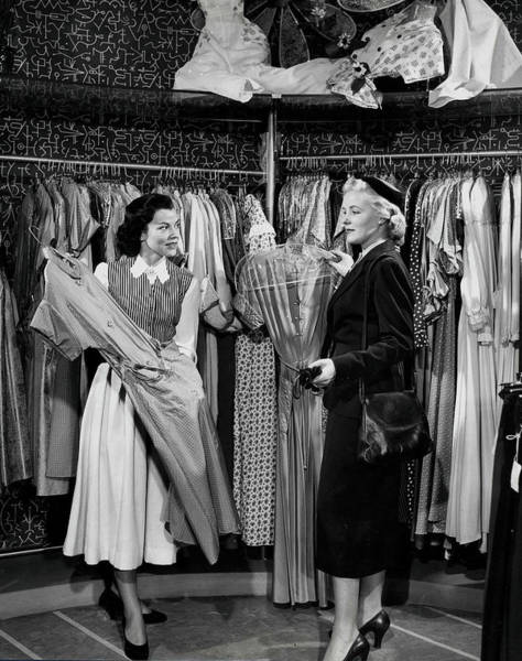 Clothing Store Photograph - Volume 2. Page 48. Picture 7.circa by Popperfoto