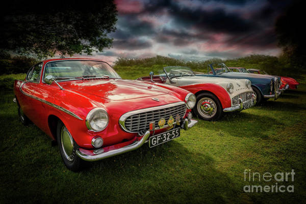Photograph - Volvo P1800 Classic Car by Adrian Evans