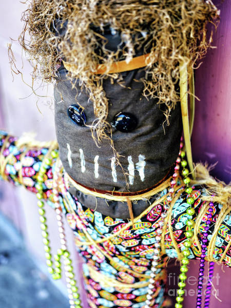 Wall Art - Photograph - Voodoo Doll In The French Quarter New Orleans by John Rizzuto
