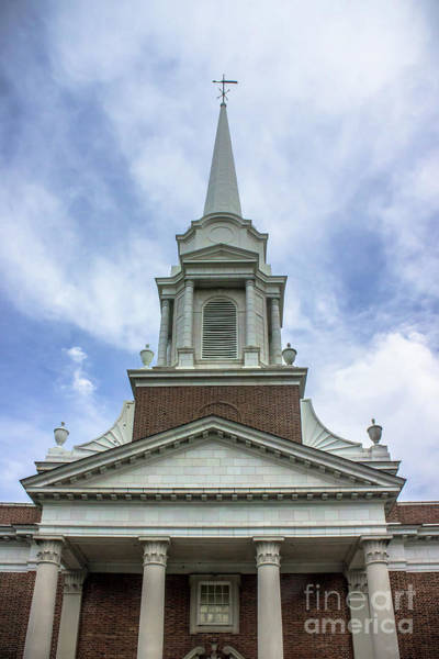 Wall Art - Photograph - Voorhees Chapel In The Clouds by Colleen Kammerer